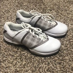 Nike Women's Golf Shoes Size 8, worn once